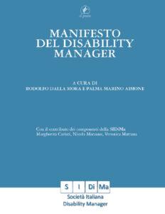 """Copertina del libro """"Manifesto del Disability Manager"""""""