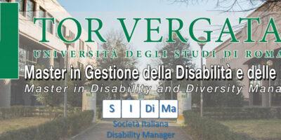"""Terza edizione Master """"Gestione della disabilità e della diversità"""""""